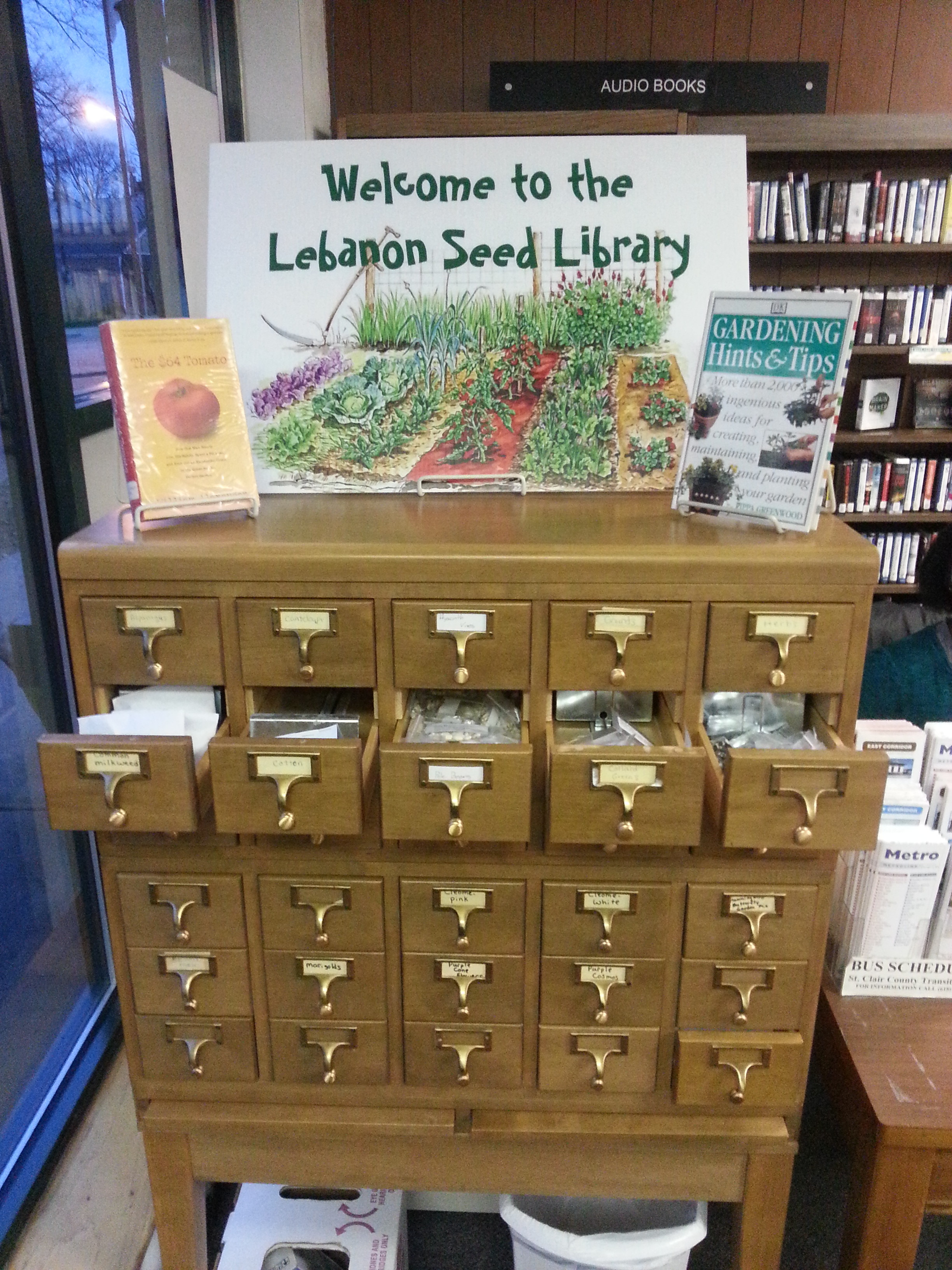 Seed Library Lebanon Public Library